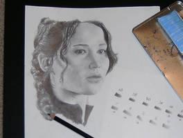 Katniss 1 by brailynne
