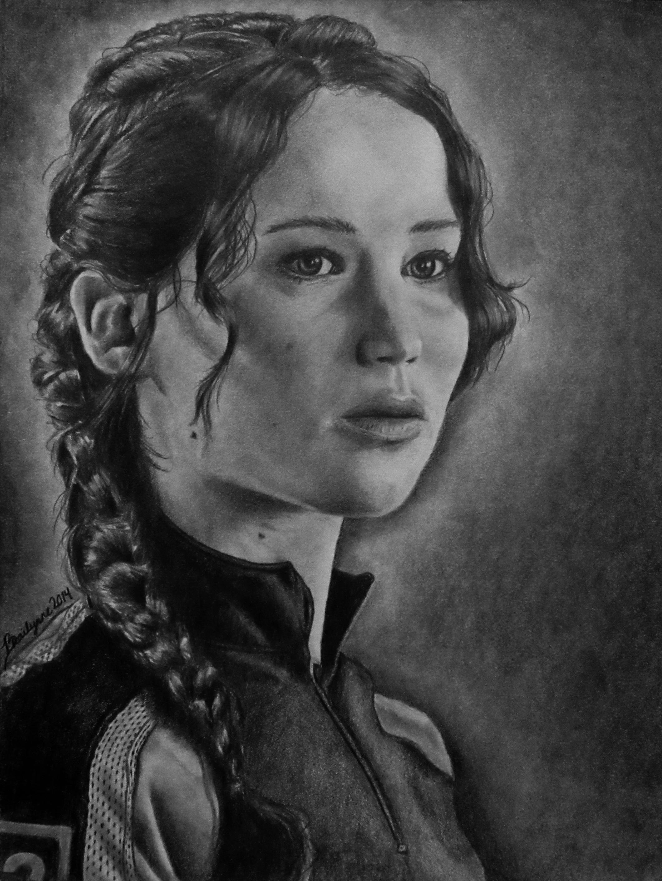 Katniss by brailynne