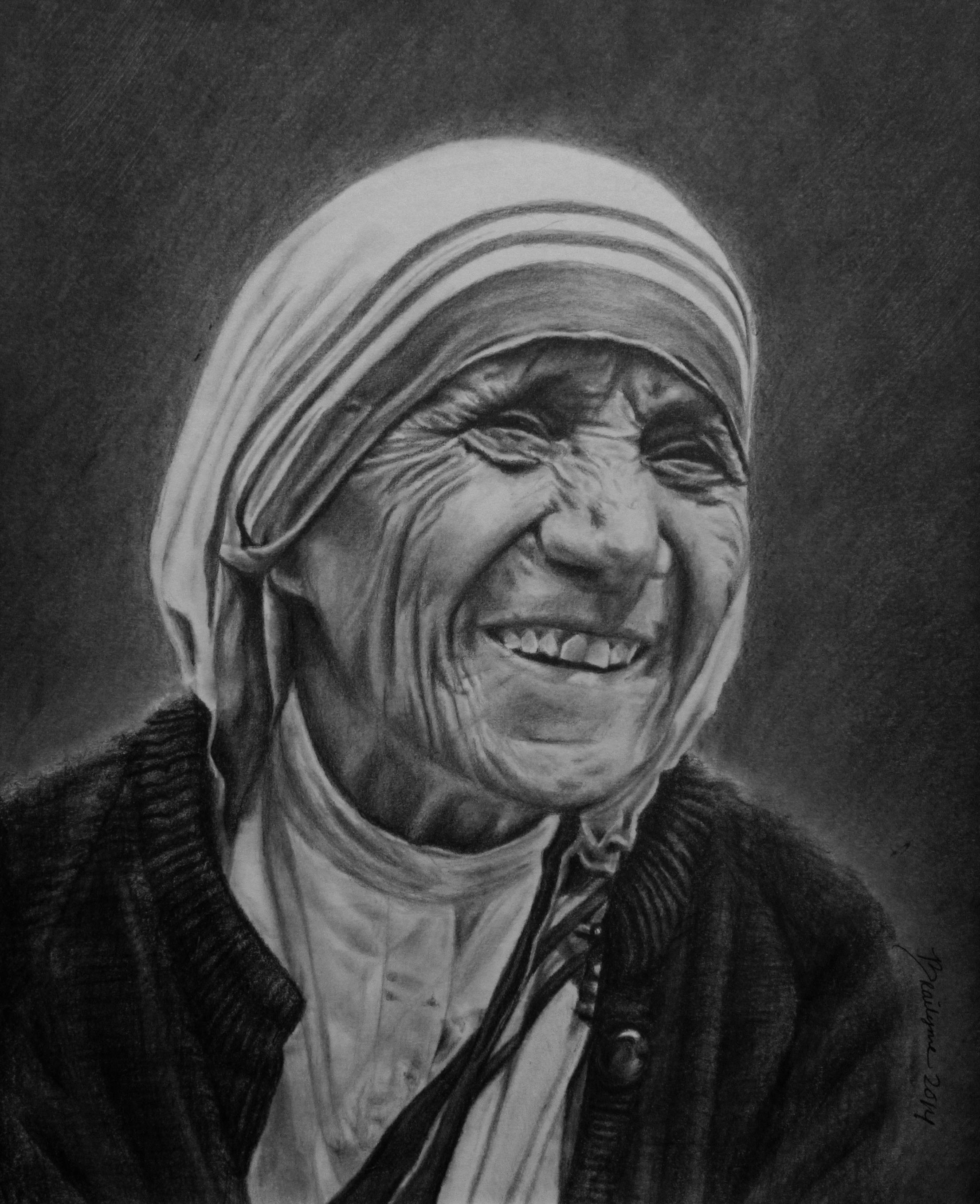 Mother Teresa by brailynne