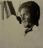 Daryl Dixon by brailynne