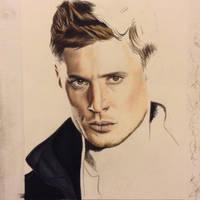 Dean Winchester WIP by brailynne