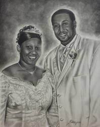 Wedding Portrait by brailynne