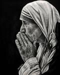 St. Teresa of Calcutta by brailynne