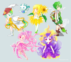 Flash  ------characters by miaoy