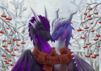 One scarf for two by ChaiChai2016