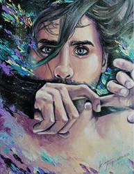 Jared Leto by KseniyaTaranenko