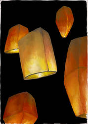 Fire Ballons by C-Netto
