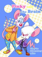 Pinky and the Brain3 by Natsu-Nori