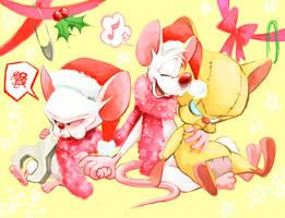 Pinky and the Brain4 by Natsu-Nori