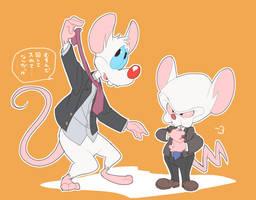 Pinky and the Brain6 by Natsu-Nori