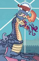 Gypceros  - The Strange Poison Bird by Cosmopoliturtle
