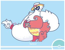 Pokemon #225 by Cosmopoliturtle