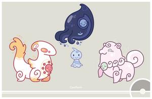 Pokemon #351 by Cosmopoliturtle