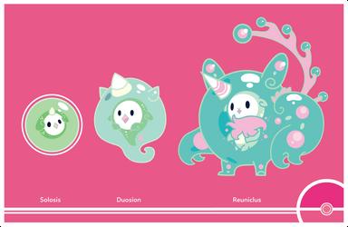 Pokemon #577-578-579 by Cosmopoliturtle