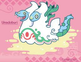 Hiraeth Creature #816 - Unadoburi by Cosmopoliturtle