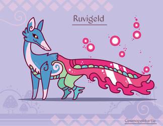 Hiraeth Creature #832 - Ruvigeld by Cosmopoliturtle