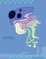 Hiraeth Creature #842 - Kordaza by Cosmopoliturtle