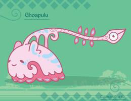 Hiraeth Creature #858 - Ghoapulu by Cosmopoliturtle