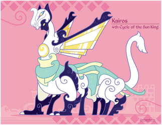 Hiraeth Creature #900 - Sun King Kairos by Cosmopoliturtle