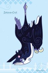 Hiraeth Creature #912 - Zoteva-Crel by Cosmopoliturtle