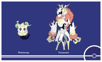 Pokemon #708-709 by Cosmopoliturtle
