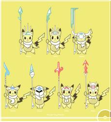Pokemon #025 Variant - 02 by Cosmopoliturtle