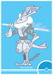 Pokemon #658 Variant by Cosmopoliturtle