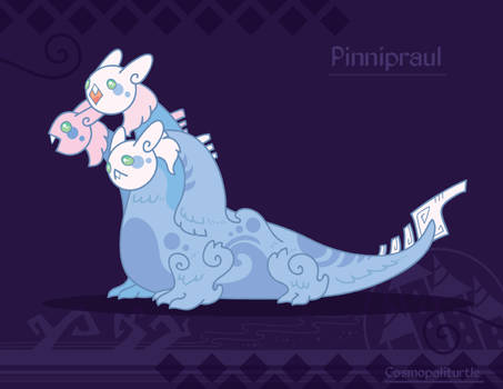 Hiraeth Creature #954 - Prinnipraul by Cosmopoliturtle