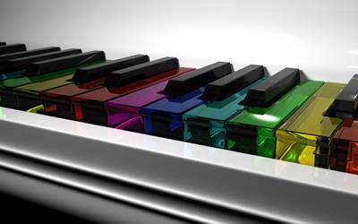 Fabulous Piano by 8-bit-Anon