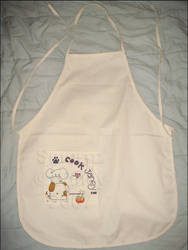 Smorez: Arffie on Apron by songhee