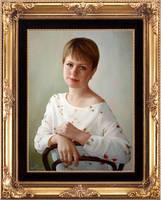 portrait oil painting by yakovdedyk