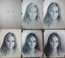 538. FOXY. Drawing Tutorial. by yakovdedyk