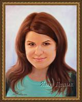 39. Portrait oil painting #6 by yakovdedyk