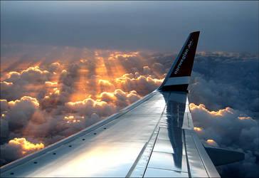 High in the sky. by Bizzibii