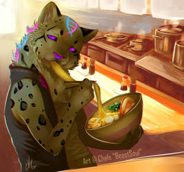 |YCH| GLUTTON by BeastySoul