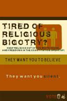 VoteAgainst Religious Hatred by Josh