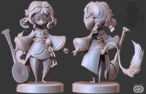 Ink Mice 3D Sculpt WIP by NBQuaternion