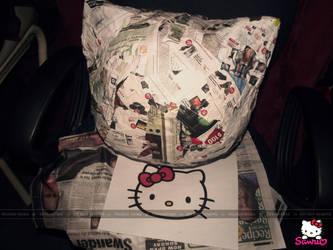 WIP Hello Kitty Head Pinata by Valerie-heika