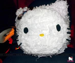 Hello Kitty Head Pinata by Valerie-heika