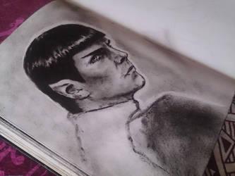 Spock by Galinaxsim