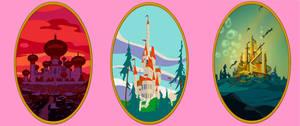 Disney kingdoms by zero-maister