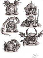 Viewtiful Kirby-ness by fuzzalot