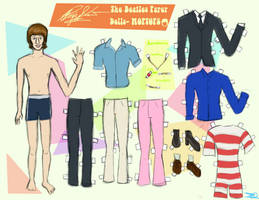 RINGO STARR PAPER DOLL by 89000007ANL
