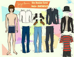 GEORGE HARRISON PAPER DOLL by 89000007ANL