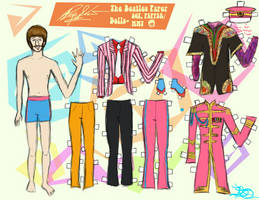 RINGO STARR PAPER DOLL 2 by 89000007ANL