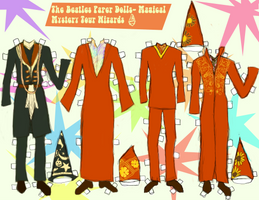 MAGICAL MYSTERY TOUR WIZARD PAPER DOLL CLOTHES! by 89000007ANL