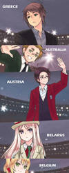 aph Olympic parade by mikitaka