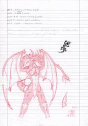 school sketch by Spere94