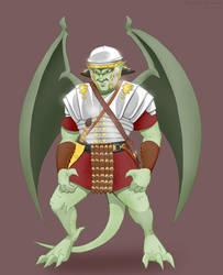 Gargoyle Legionary by Harley-1979