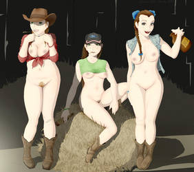 Country Girls by Harley-1979